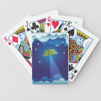 Paper theater - UFO Bicycle Playing Cards
