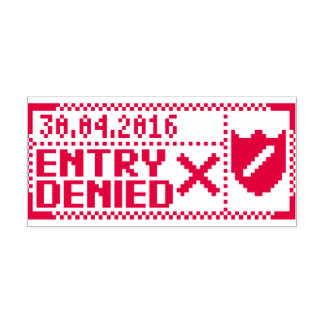 Papers, Please Denied Stamp