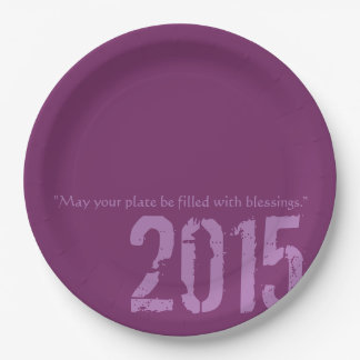 PaperWise 2015 Party Paperware 9 Inch Paper Plate