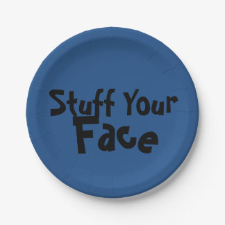 "PaperWise 7"" Stuff Your Face Plate"