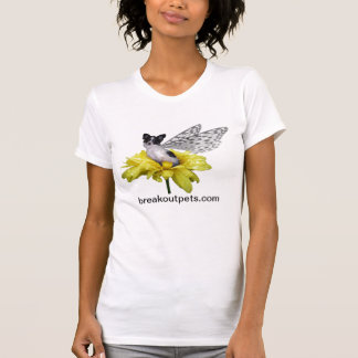Papillon Dog Fairy Ladies top