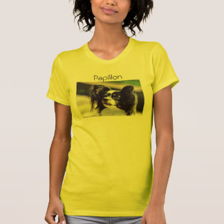 """Papillon""Dog Photo Shirt"