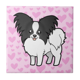 Papillon Love Small Square Tile