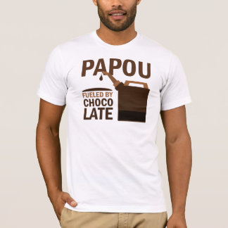 Papou (Funny) Chocolate T-Shirt