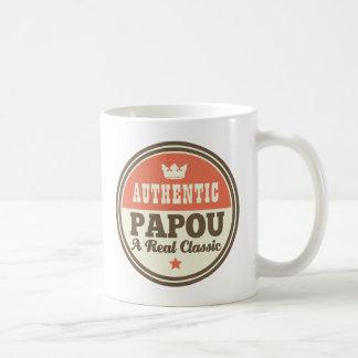 Papou Nickname Grandpa Fathers Day Mug