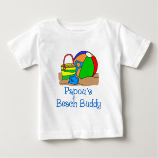 Papou's Beach Buddy Baby T-Shirt