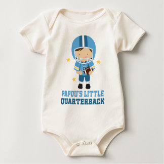 Papous Little Quarterback Baby Bodysuit