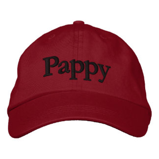 Pappy Embroidered Baseball Cap Hat