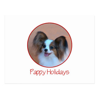 Pappy Holidays (2) Postcard