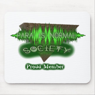 "Para-Is-Normal ""Proud Member"" Mouse Pad"