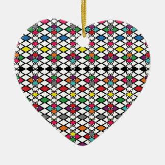 Paradigm Scissors Ceramic Heart Decoration