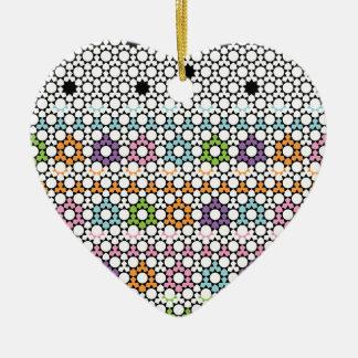 Paradigm Suns Ceramic Heart Decoration