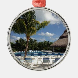 Paradise Beach Christmas Ornament