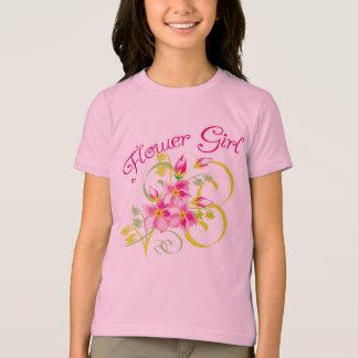 Paradise Flowergirl Tee Shirt