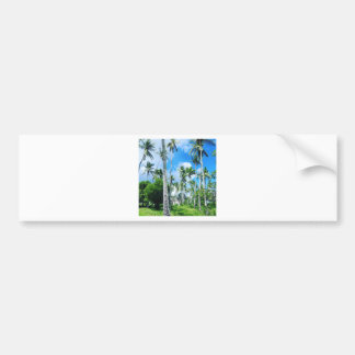 Paradise in the Pacific Bumper Sticker