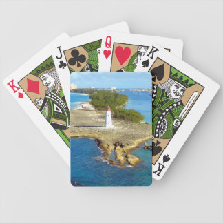 Paradise Island Light Bicycle Playing Cards