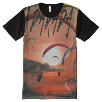 PARAGLIDER PG-22 Ponto Central All-Over Print T-Shirt