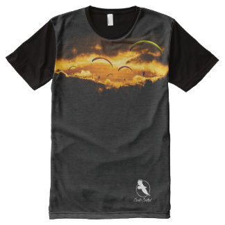 PARAGLIDER PG-23 Ponto Central All-Over Print T-Shirt