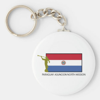 Paraguay Asuncion North Mission LDS CTR Key Ring