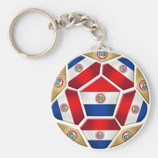 Paraguay ball 2010 2014 soccer ball gifts key ring