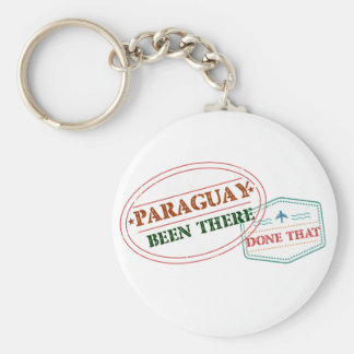 Paraguay Been There Done That Key Ring