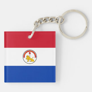 Paraguay Key Chain