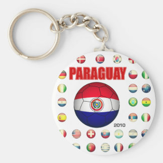 Paraguay World Cup 2010 T-Shirts Key Ring