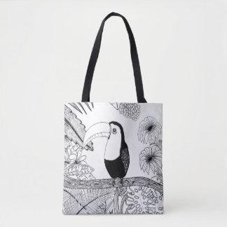 Paraíso Toucan Tote Bag
