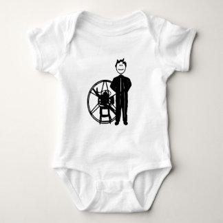 Paramotor Pilot Baby Bodysuit