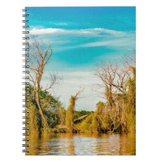 Parana River, San Nicolas, Argentina Notebook