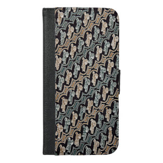 Parang Gendong Jamu Batik iPhone 6/6s Plus Wallet Case