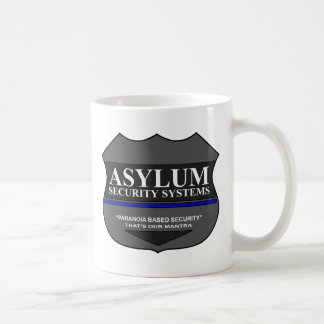 Paranoia Based Security Coffee Mug