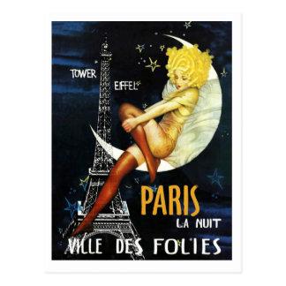 Paris at Night Post Card