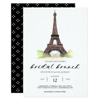 Paris Bridal Brunch Invitation