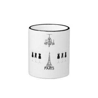 Paris City of Light Eiffel Tower Fashion Theme Mug
