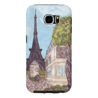 Paris Eiffel Tower inspired landscape Samsung case