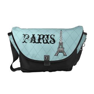 Paris Eiffel Tower Messenger Purse Diaper Bag Gift Courier Bags