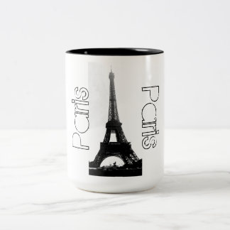 Paris France Eiffel Tower Coffee Mug
