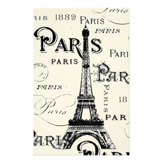 Paris France Gifts and Souvenirs Stationery