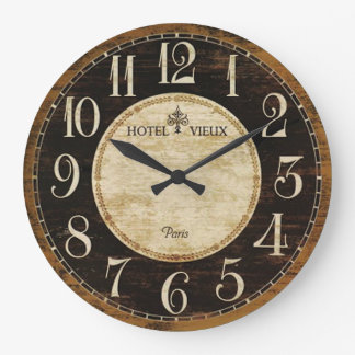 Paris Hotel Clock