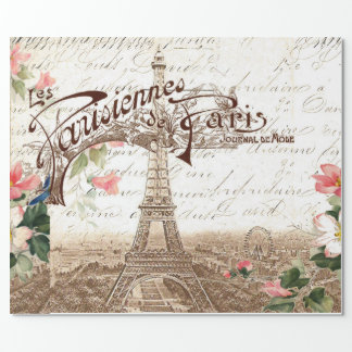 Paris in Spring Wrapping Paper
