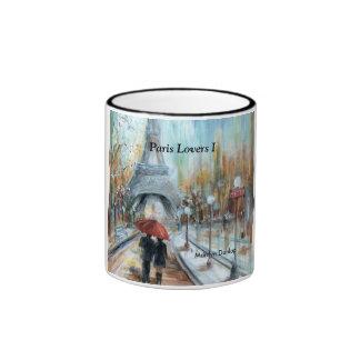 Paris Lovers I Ringer Mug
