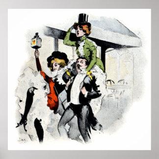 Paris Nightlife no. 4 Poster