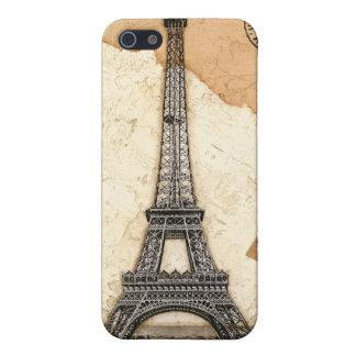 Paris, Postmark Eiffel Tower iPhone 5/5S Cover
