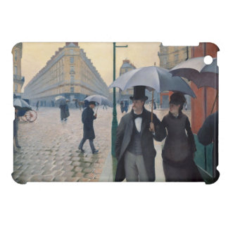 Paris Street Rainy Day by Gustave Caillebotte Case For The iPad Mini