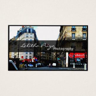 Parisian Photography Business Card
