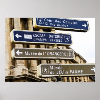 Parisian Street Signs