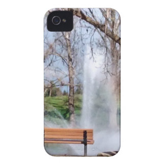 Park Bench iPhone 4 Case-Mate Case