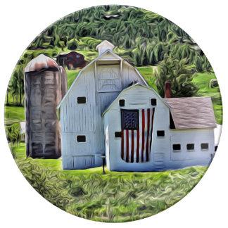Park City Historic Barn Illustration by LH Plate