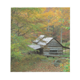 Park Homestead Cabin Ains Tennessee Notepad
